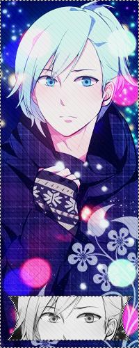 Аватар вконтакте Ai Mikaze / Микадзе Аи из аниме Поющий принц / Uta no Prince-sama в новогоднюю (рождественскую) ночь
