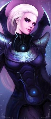 Аватар вконтакте Диана / Diana из игры из игры Лига Легенд / League of Legends