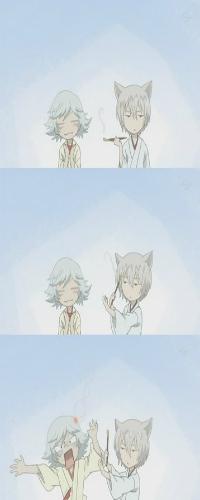 Аватар вконтакте Мидзуки / Mizuki и Томоэ / Tomoe из аниме Очень приятно, Бог / Kamisama Hajimemashita