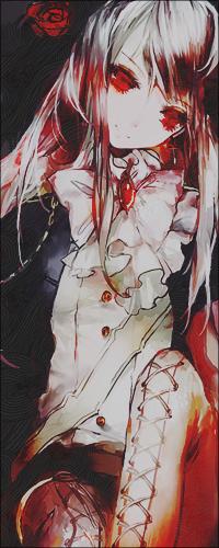 Кровавые рисунки аниме