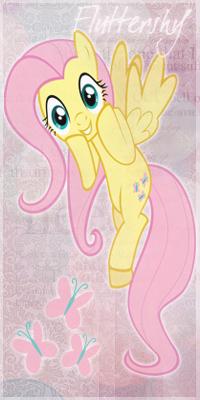 99px.ru аватар Fluttershy / Флаттершай из мультсериала Мои маленькие пони: Дружба — это чудо / My Little Pony: Friendship Is Magic