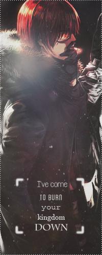 Аватар вконтакте Matt aka Mail Jeevas / Мэтт, настоящее имя Майл Дживас, из аниме Тетрадь смерти Death Note зимней ночью курит на улице (Ive come to burn your kingdom DOWN / Я пришел чтобы сжечь твое королевство ДОТЛА)