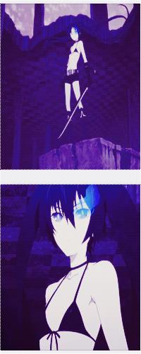 Аватар вконтакте Стрелок с Черной Скалы / Черный Стрелок Рока / Black Rock Shooter из одноименного аниме