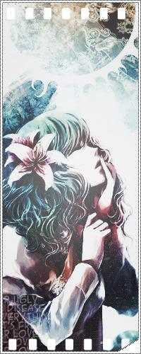Аватар вконтакте Kazami Yuuka / Юука Казами из игры Тохо / Touhou Project с лилиями в волосах, с закрытыми глазами, подняла голову и приложила пальцы к губам