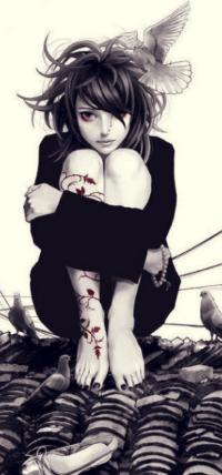 плачущие девушки картинки нарисованные
