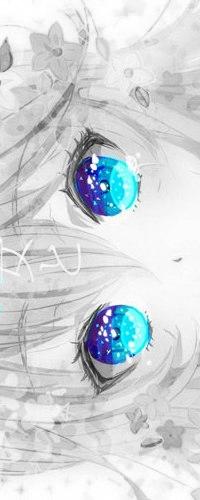 Глаза цветы аватары вконтакте 41