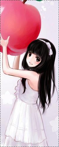 Картинки девушки в платьях с чёрными волосами