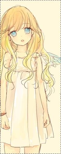 Аниме картинки девушек с жёлтыми волосами
