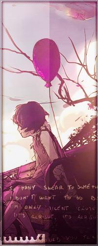 99px.ru аватар Девочка с розовым шариком сидит на скамейке и смотрит в даль