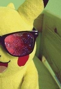 Аватар вконтакте Игрушка Пикачу в космических очках