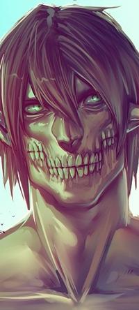 Аватар вконтакте Эрен Егер / Eren Jaeger в облике титана из аниме Shingeki no Kyojin / Атака Титанов