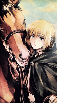 99px.ru аватар Армин Арлерт / Armin Arlert из аниме Shingeki no Kyojin / Атака Титанов