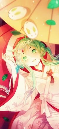 Аватар вконтакте Вокалоид Гуми Мегпоид / Vocaloid Gum Megpoid