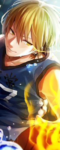 Аватар вконтакте Кисе Рета / Kise Ryouta из аниме Баскетбол Куроко / Kuroko no Basket
