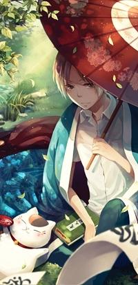 Аватар вконтакте Нацуме Такаши / Natsume Takashi из аниме Тетрадь дружбы Нацуме / Natsume Book of Friendship / Natsume Yuujinchou