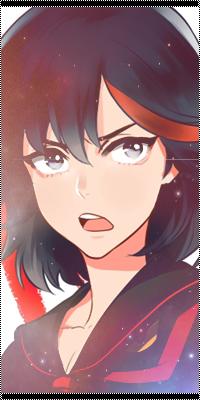 Аватар вконтакте Матой Рюко / Matoi Ryuuko из аниме Круши Кромсай / Убить или быть убитым / Kill la kill