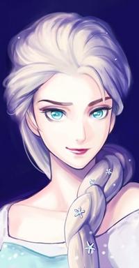Снежная королева - карнавальный костюм из обоев - Девочки на аву