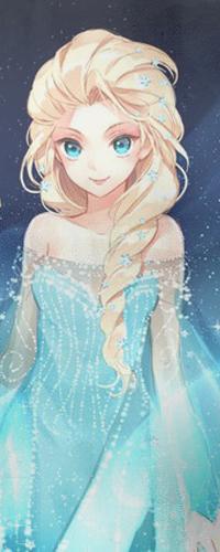 Аватар вконтакте Эльза / Elsa из анимационного мультфильма Холодное сердце / Cold heart