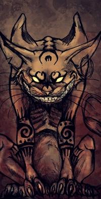 Аватар вконтакте Чеширский кот / Cheshire-Cat из игры и сказки Alice: Madness Returns / Алиса в стране чудес / Alice in Wonderland