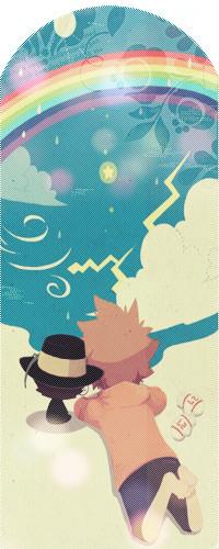 Аватар вконтакте Цунаеси Савада / Sawada Tsunayoshi и Реборн из аниме Учитель-мафиози Реборн! / Katekyo Hitman Reborn!