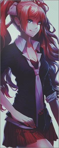 Аватар вконтакте Эношима Джунко из аниме Школа отчаяния / Enoshima Junko in the School Despair