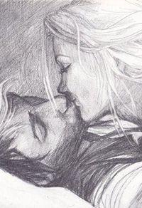 Аватар вконтакте Девушка целует парня