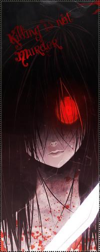 Аниме девушки с чёрными волосами и красными глазами