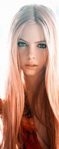 Красивые девушки блондинки голубоглазые