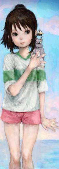 Аватар вконтакте Тихиро / Chihiro из аниме Унесенные Призраками / Spirited Away