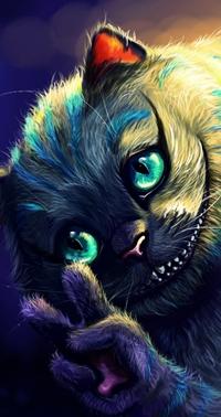 Вконтакте чеширский кот cheshire cat из