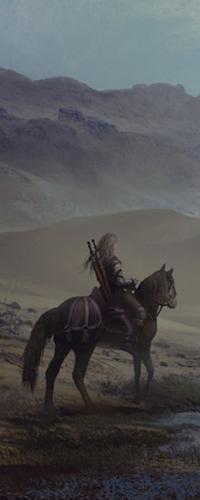 Аватар вконтакте Воин верхом на лошади, арт by FerdinandLadera