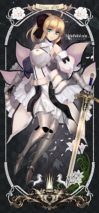 99px.ru аватар Сэйбер / Saber из аниме Судьба: Ночь Схватки / Fate: stay night