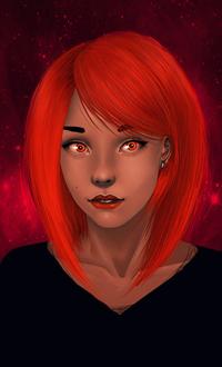 Девушки с яркими рыжими волосами фото фото 385-10