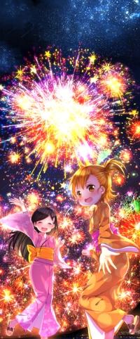 Аватар вконтакте Нару Котоиси / Naru Kotoishi и Хина Кубота / Hina Kubota из аниме Баракамон / Barakamon