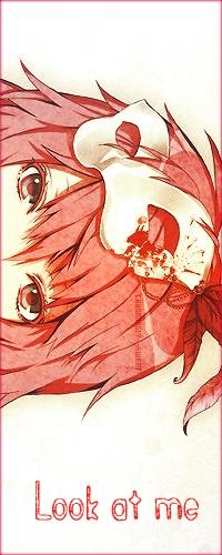 99px.ru аватар Вокалоид Лука Мегурине / Vocaloid Luka Megurine с белой маской на голове (Look at me / Посмотри на меня)