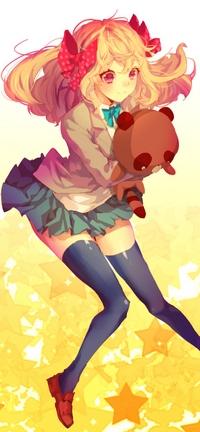 Аватар вконтакте Chiyo Sakura / Чие Сакура из аниме Gekkan Shoujo Nozaki-kun / Ежемесячное седзе Нозаки-куна