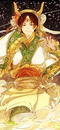 Аватар вконтакте Hakutaku / Хакутаку из аниме Хладнокровный Хозуки / Hoozuki no Reitetsu