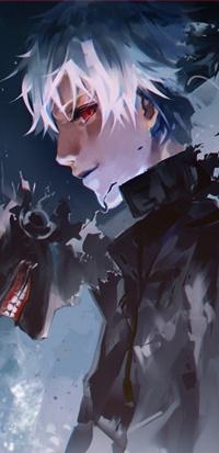 Кен из аниме tokyo ghoul токийский гуль