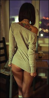 Фото девушек брюнетки со спины фото 703-637