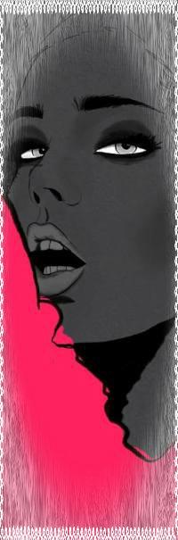 Аватар вконтакте Девушка с открытым ртом