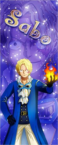 Аватар вконтакте Сабо / Sabo держит в руках огонь из аниме Ван пис / One Piece