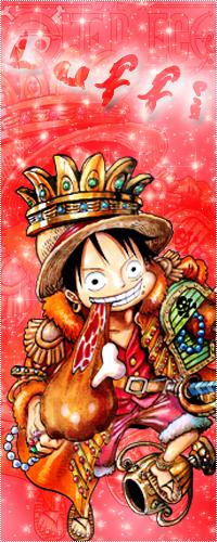 99px.ru аватар Монки Ди Луффи / Monkey D. Luffy ест мясо и улыбается из аниме Ван пис / One Piece