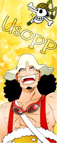 99px.ru аватар Усопп / Usopp улыбается из аниме Ван пис / One Piece