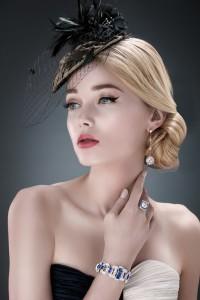 Аватар вконтакте Девушка в шляпке, by Brendan Zhang