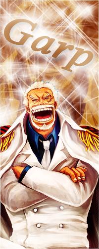 Аватар вконтакте Вице адмирал Гарп / Garp из аниме Ван пис / One Piece смеется