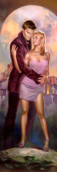 Аватар вконтакте Баффи / Buffy и Ангел / Аngel из сериала Баффи — истребительница вампиров / Buffy the Vampire Slayer