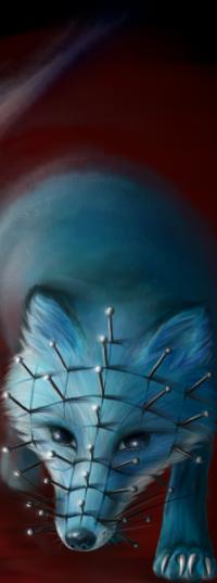 Рисованная картинка лиса