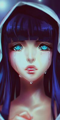 Грустные картинки со слезами аниме 2