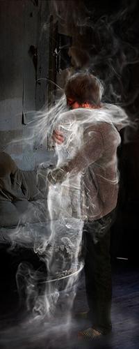 Клубы дыма девушка фото