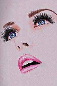 Нарисованные картинки широкобёдрых женщин фото 683-542